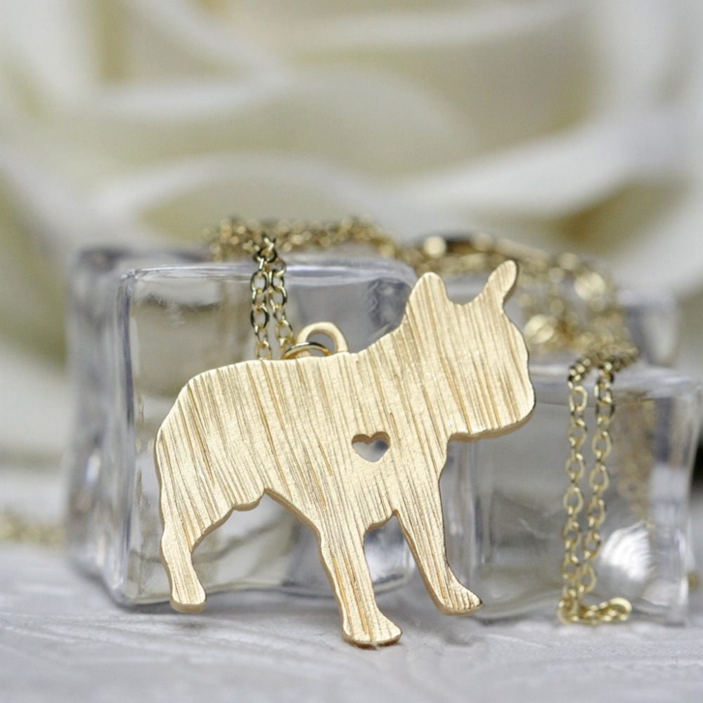 French Bulldog Necklace Pehts