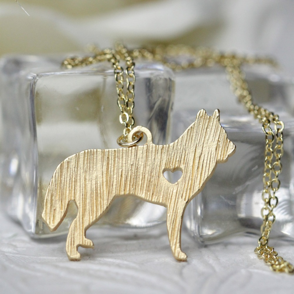 Dog necklaces engrave doberman pinscher animal pendant necklace for husky necklace aloadofball Image collections