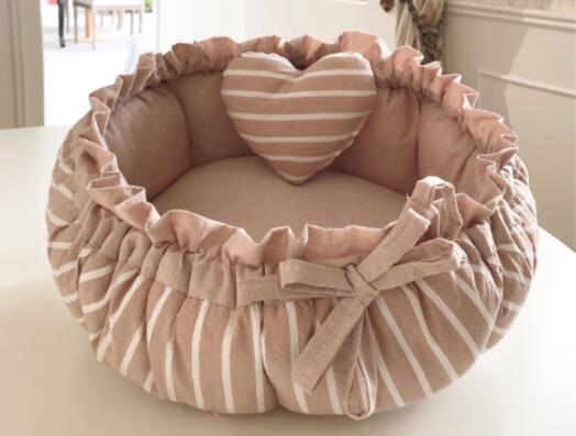 Princess Style Sweety Dog Bed Cat ...