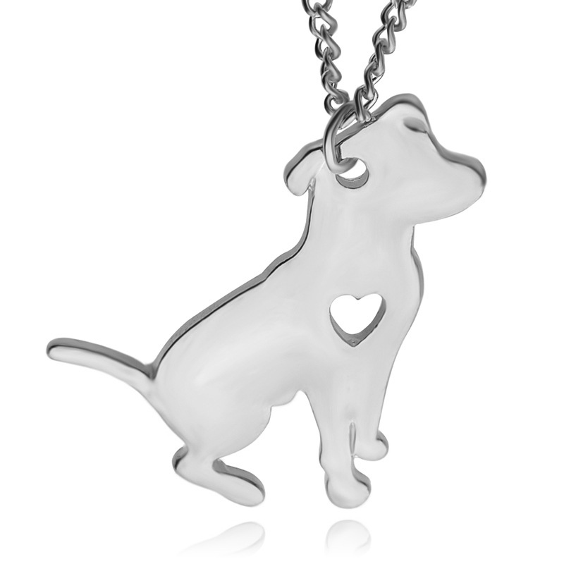 Pitbull necklace jewelry custom dog pendant necklaces for dog lovers pitbull necklace jewelry custom dog pendant aloadofball Choice Image